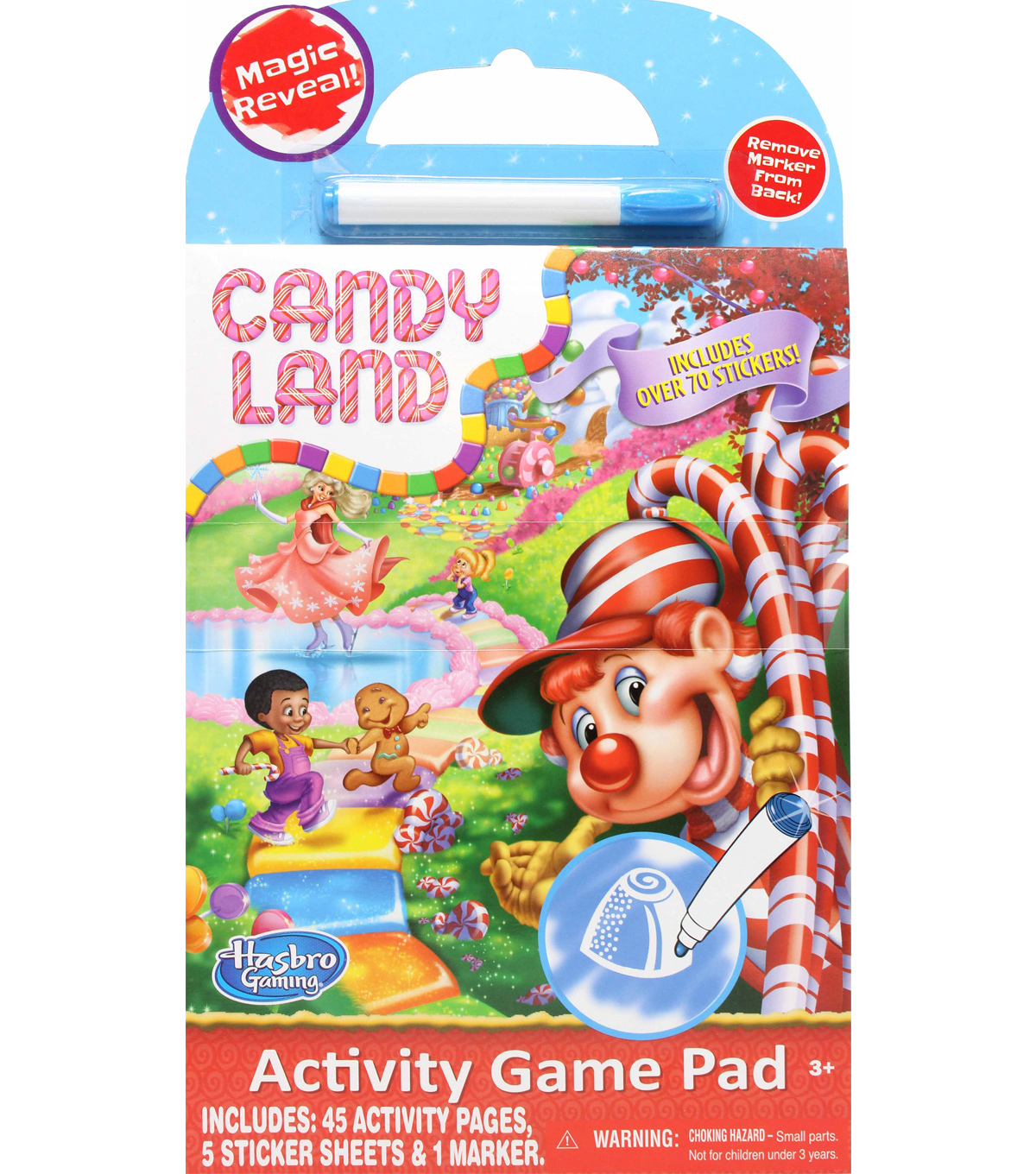 Hasbro Candy Land Game Activity Pad