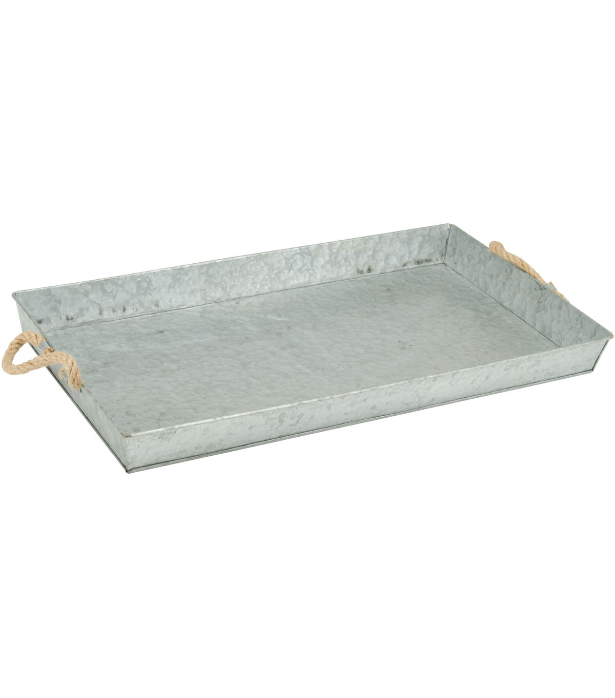 Fab Lab Large Galvanized Metal Tray