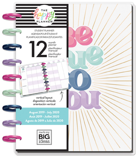 The Happy Planner 12-Month Dated Medium Planner-Be True