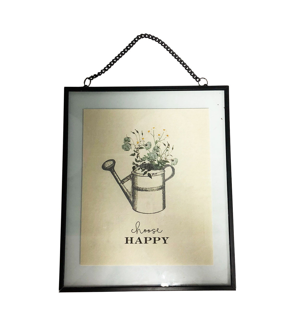 Simply Spring Wall Decor-Choose Happy & Watering Can