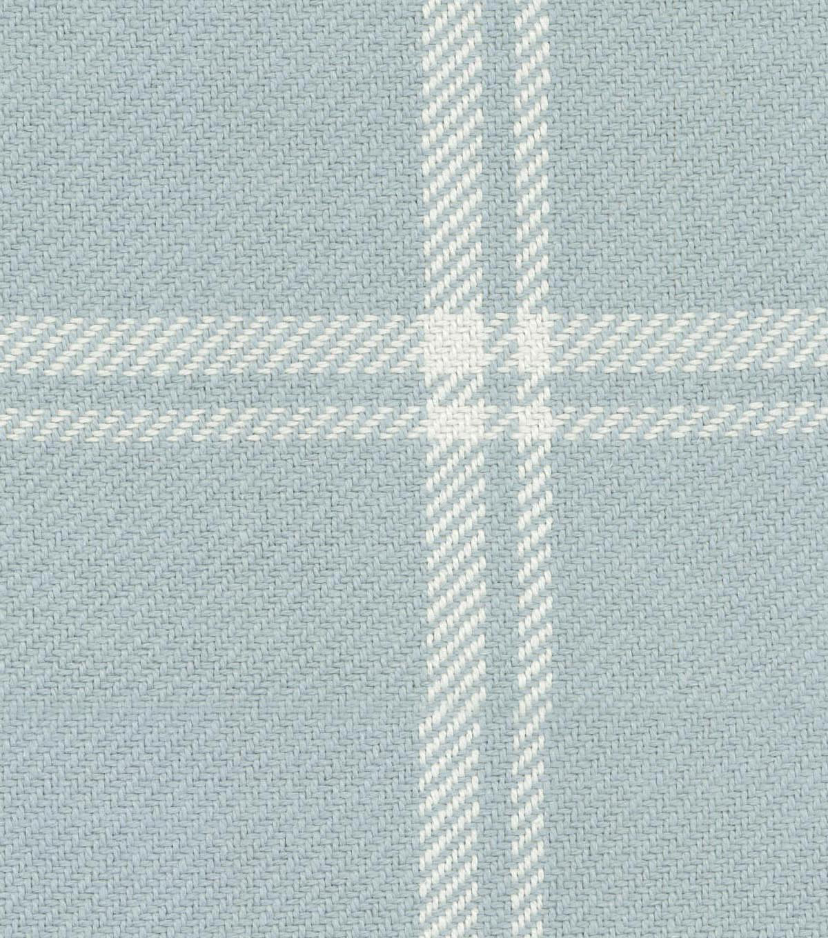 Waverly Upholstery Fabric 54\u0027\u0027-Opal Bloomsbury Plaid
