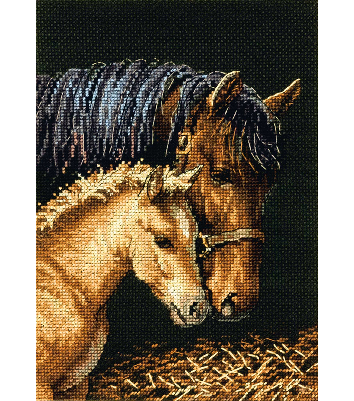 Gold Petites Gentle Touch Counted Cross Stitch Kit 18 Count