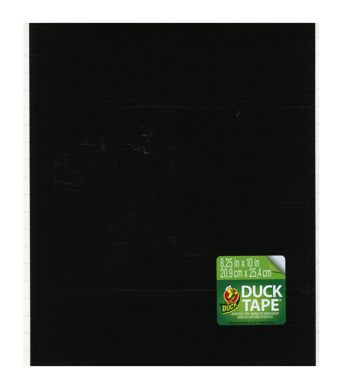 Duck Tape Single Sheets 8.25\u0022X10\u0022-Black