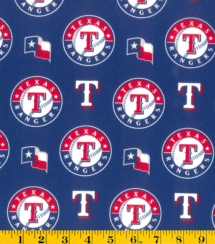 Texas rangers mlb cotton fabric joann - Texas rangers logo images ...
