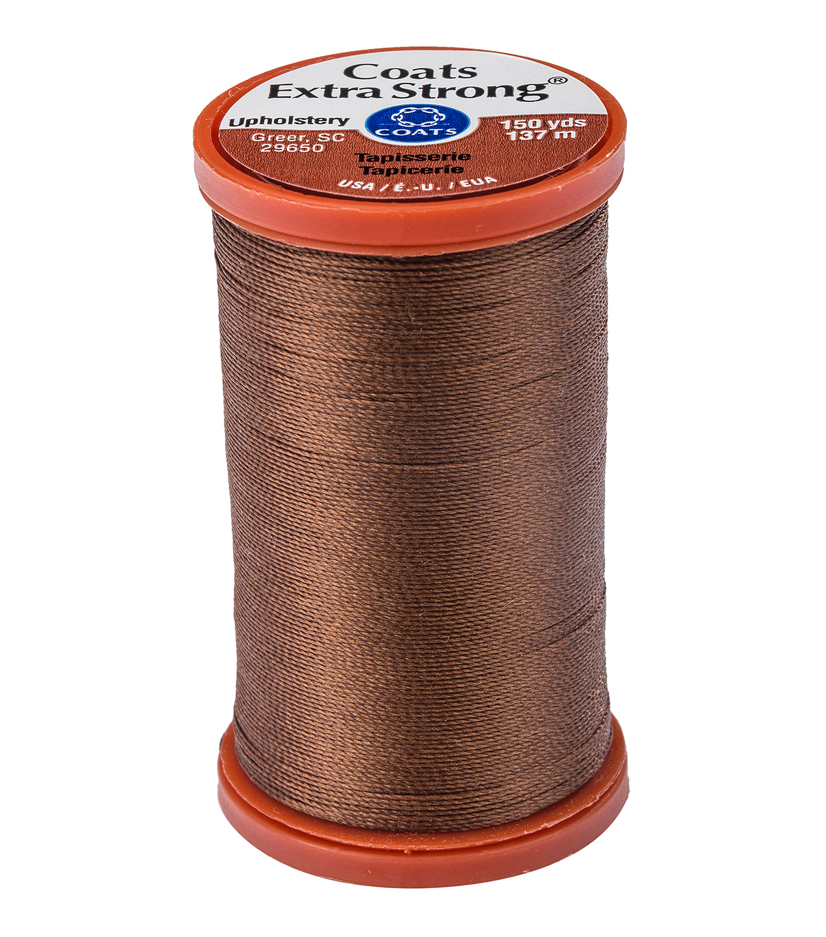 Coats & Clark Extra Strong & Upholstery Thread 150 yd , Tan