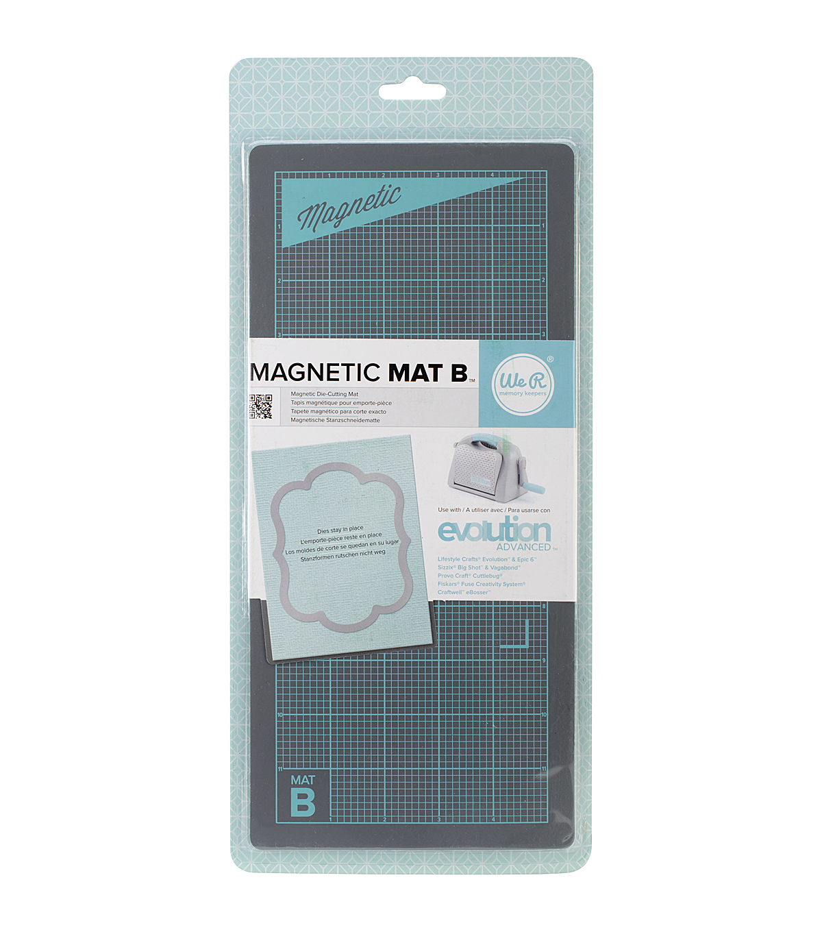 We R Memory keepers Magnetic Mat B For Use With Evolution Advanced