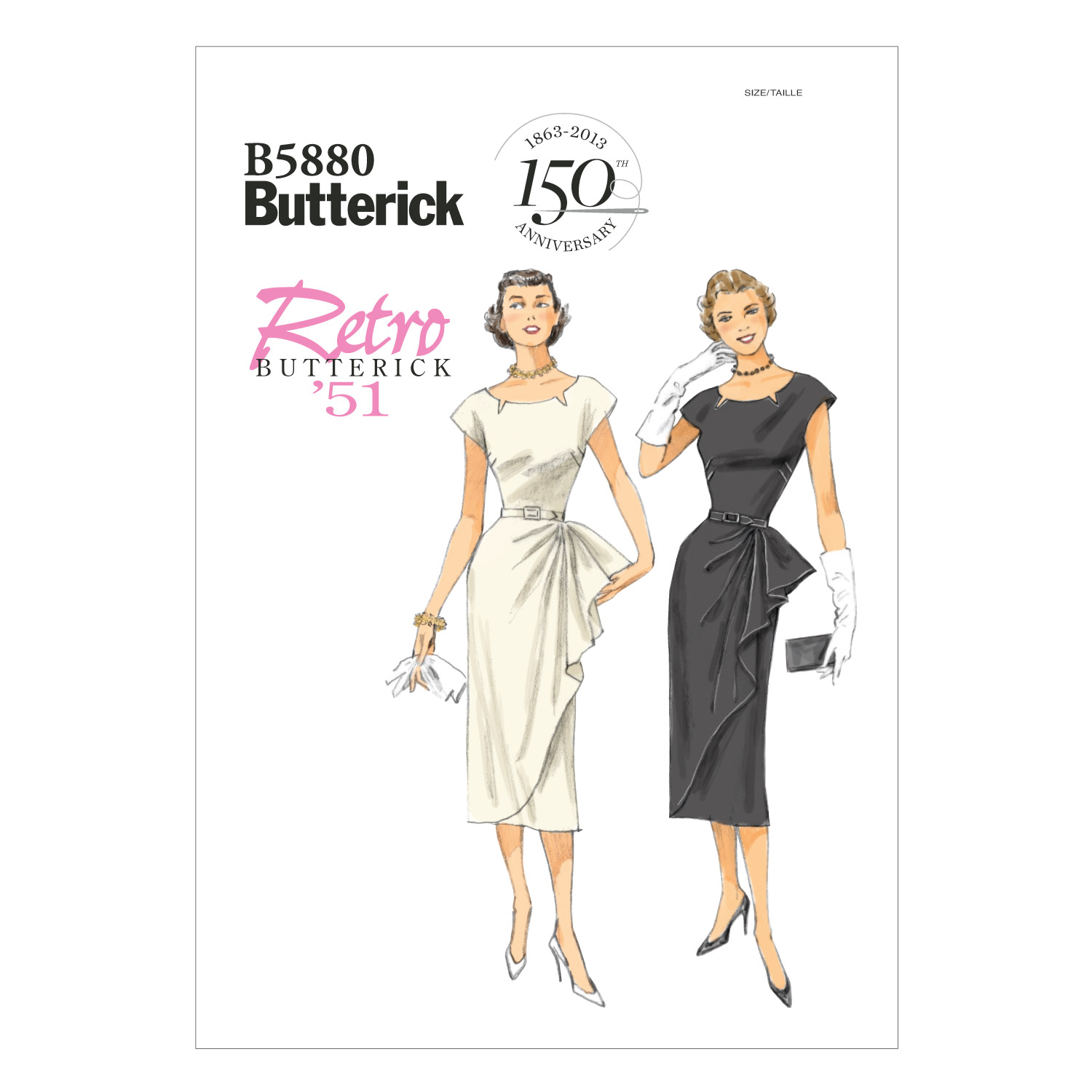 Butterick Misses Dress-B5880