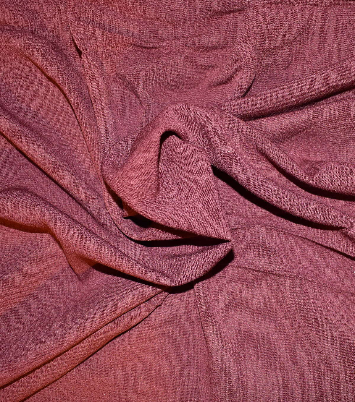 Silky Gauze Fabric -Wine