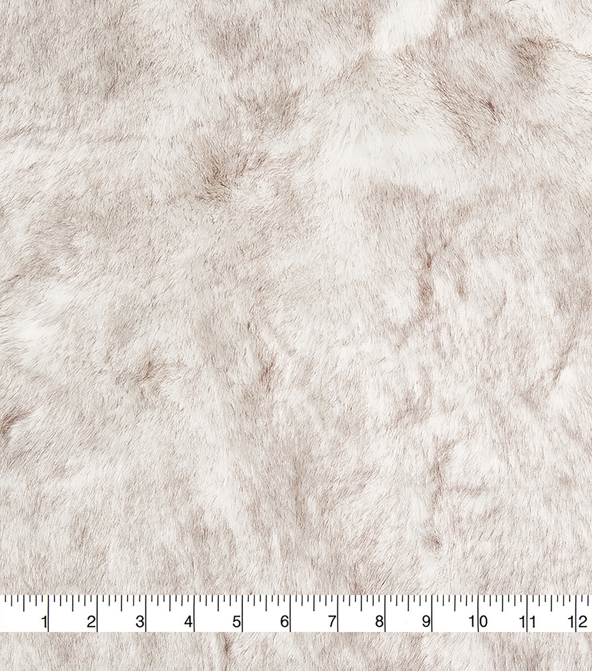 Fashion Faux Fur Fabric -Eskimo Cream Grey