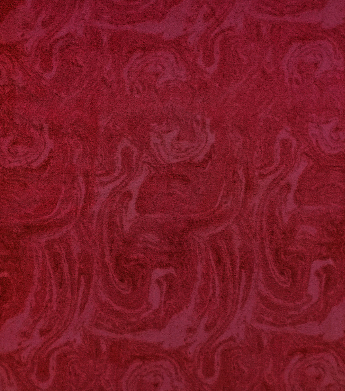 Anti-Pill Plush Fleece Fabric-Wine Marble