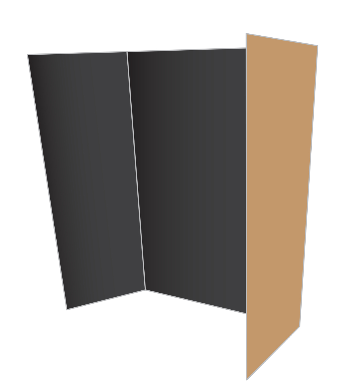 Royal Brites Black Project Board 36x48