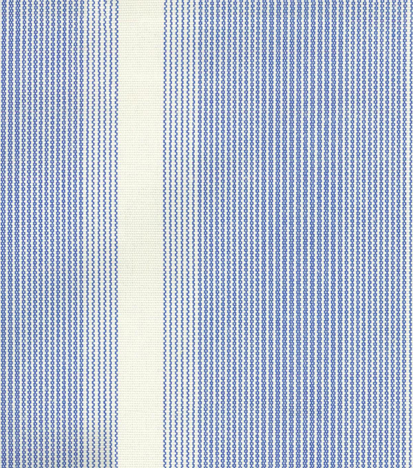 Waverly Upholstery Fabric 54\u0022-Big Wig Stripe/Marine