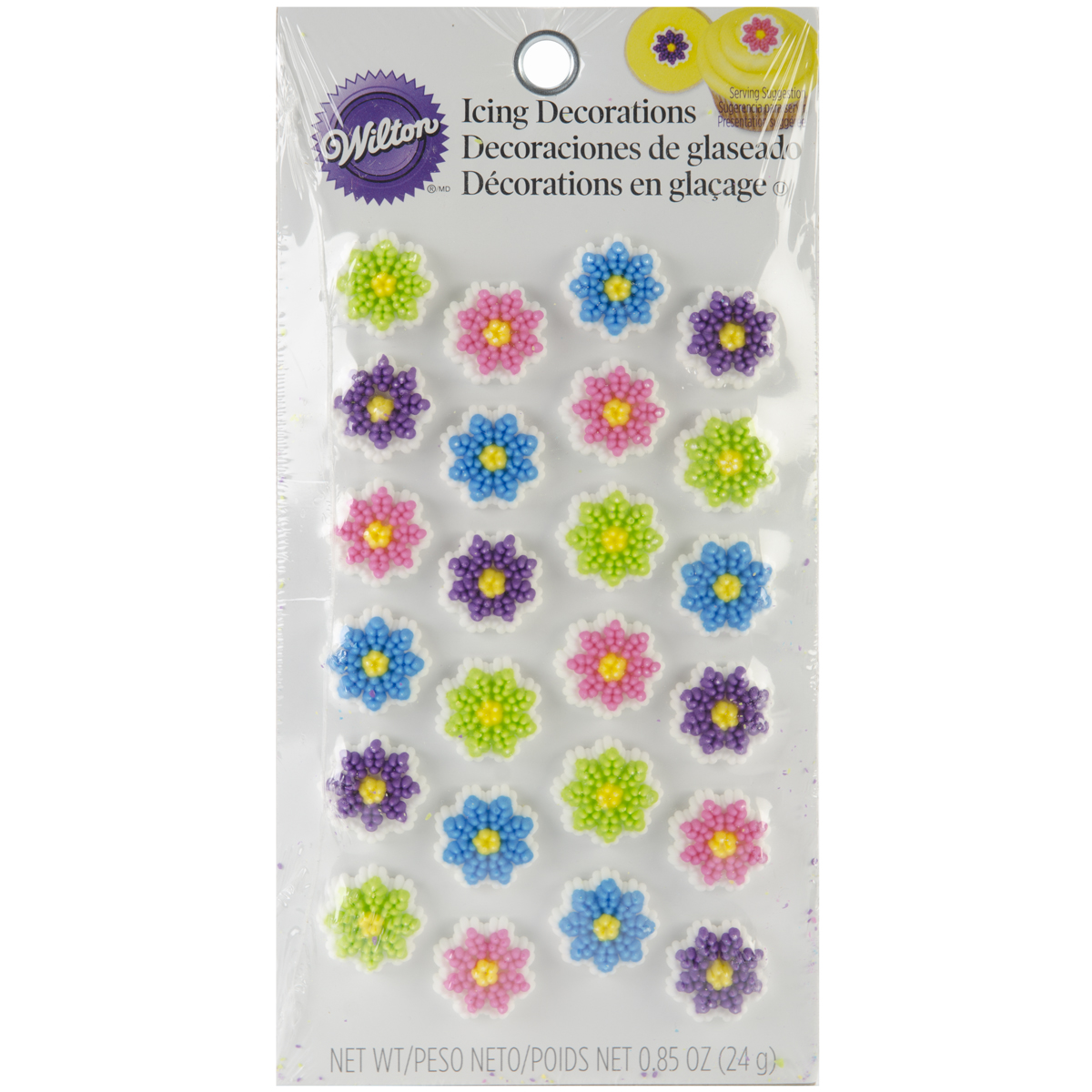 Wilton® Icing Decorations Mini Flower