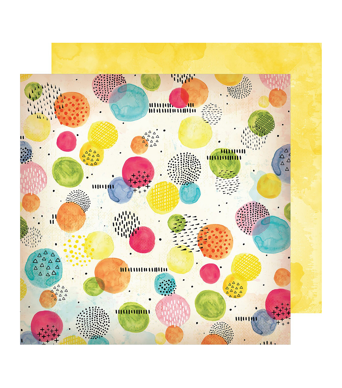Vicki Boutin Field Notes Double-Sided Cardstock 12\u0022X12\u0022-Abstract Moments
