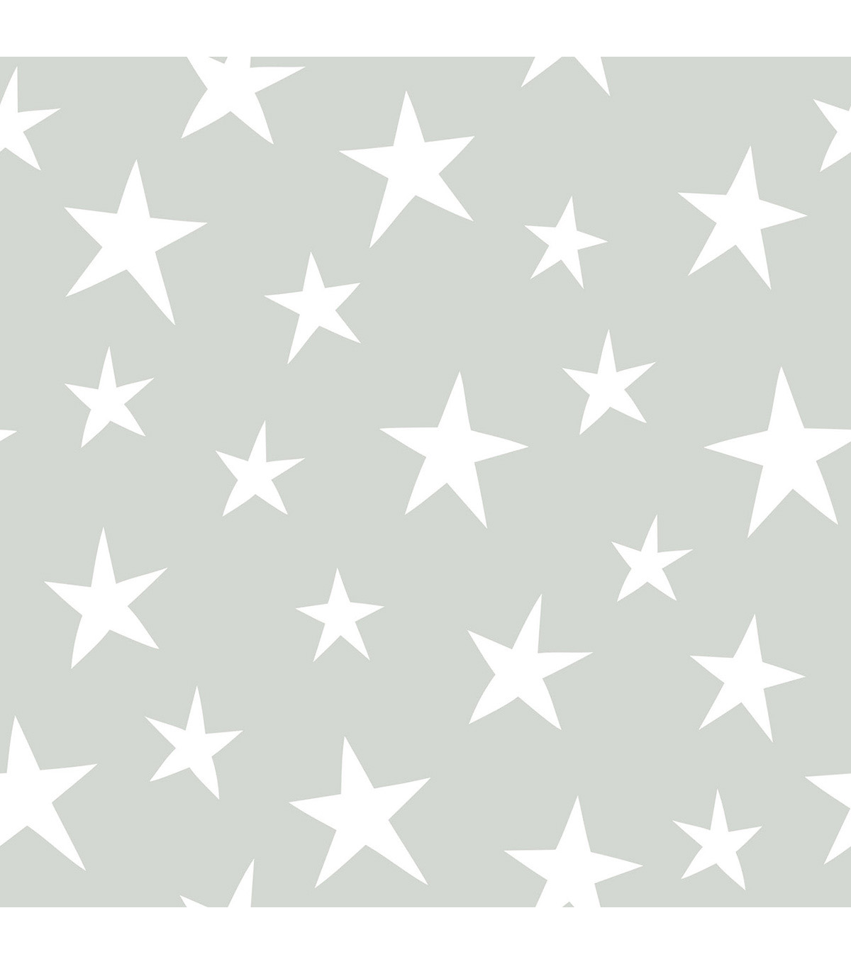 Wallpops Nuwallpaper Peel & Stick Wallpaper-Stardust on Gray