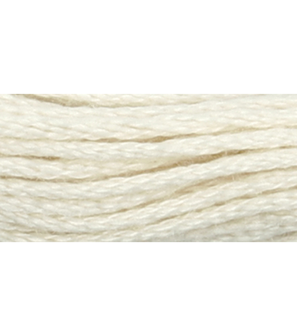 C&C 6-Strand Embroidery Floss 8.75yd-Cream
