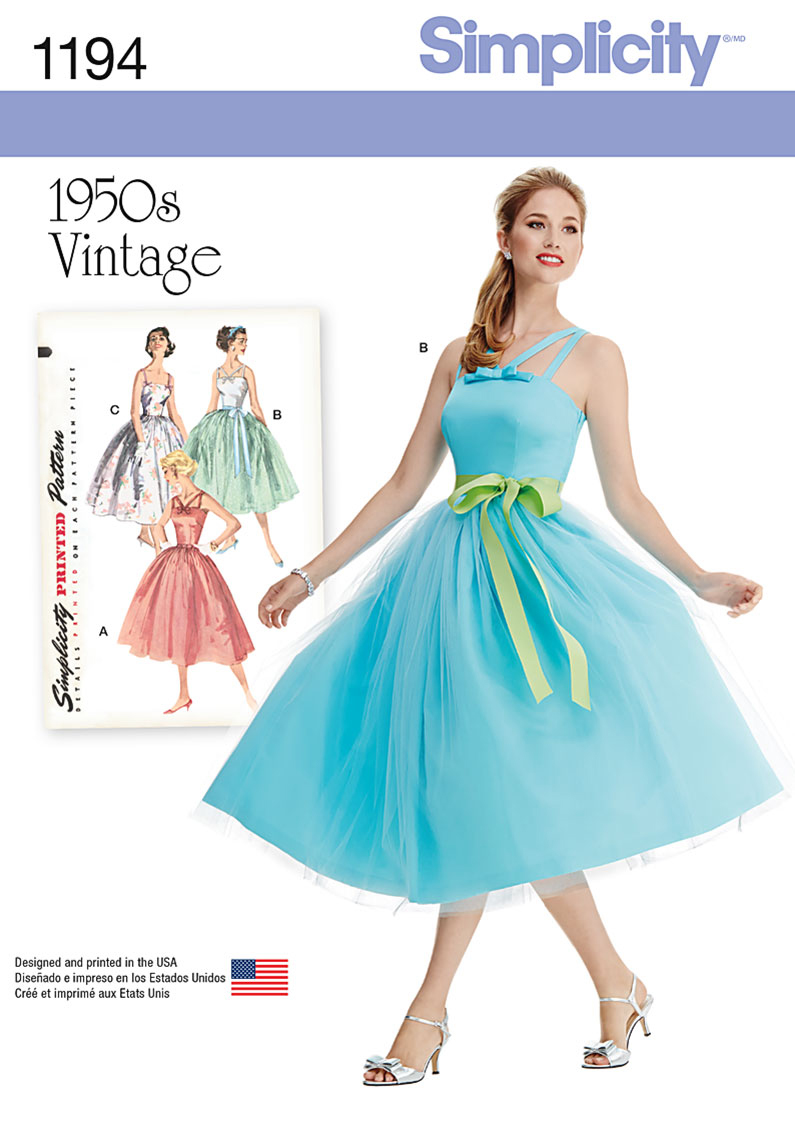 Simplicity Pattern 1194H5 6-8-10-12--Special Occasion