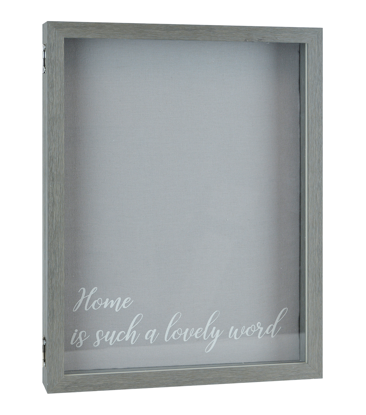 Family Shadowbox 12\u0022X16\u0022-Grey