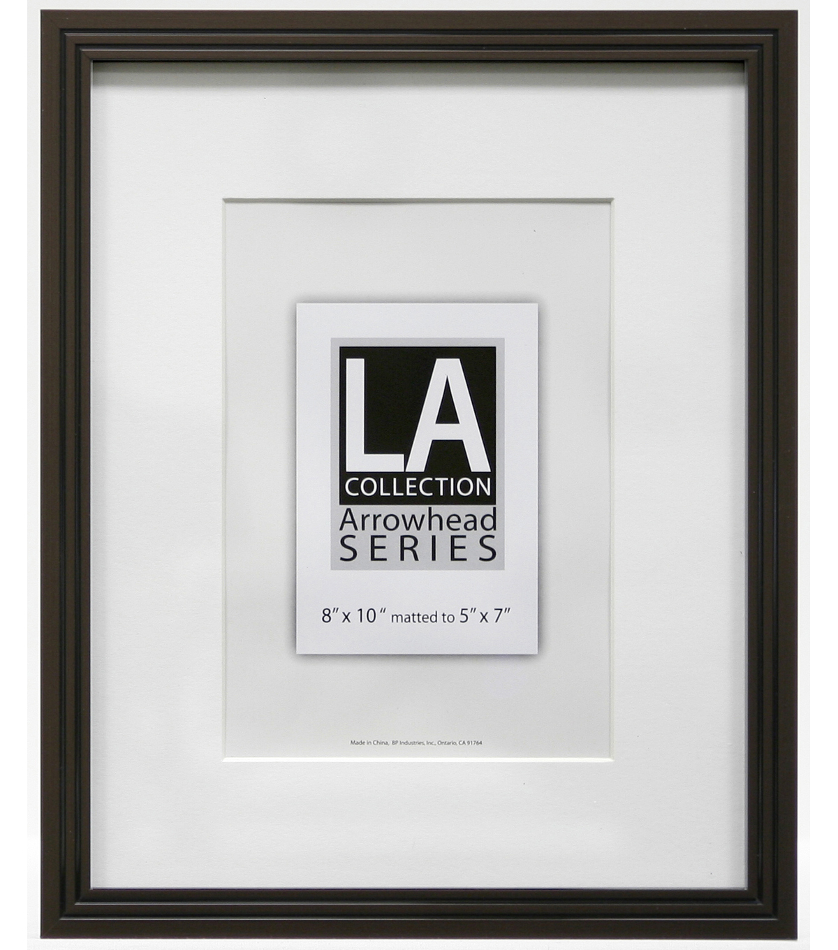 LA Collection Metal Wall Frame 8X10-Bronze