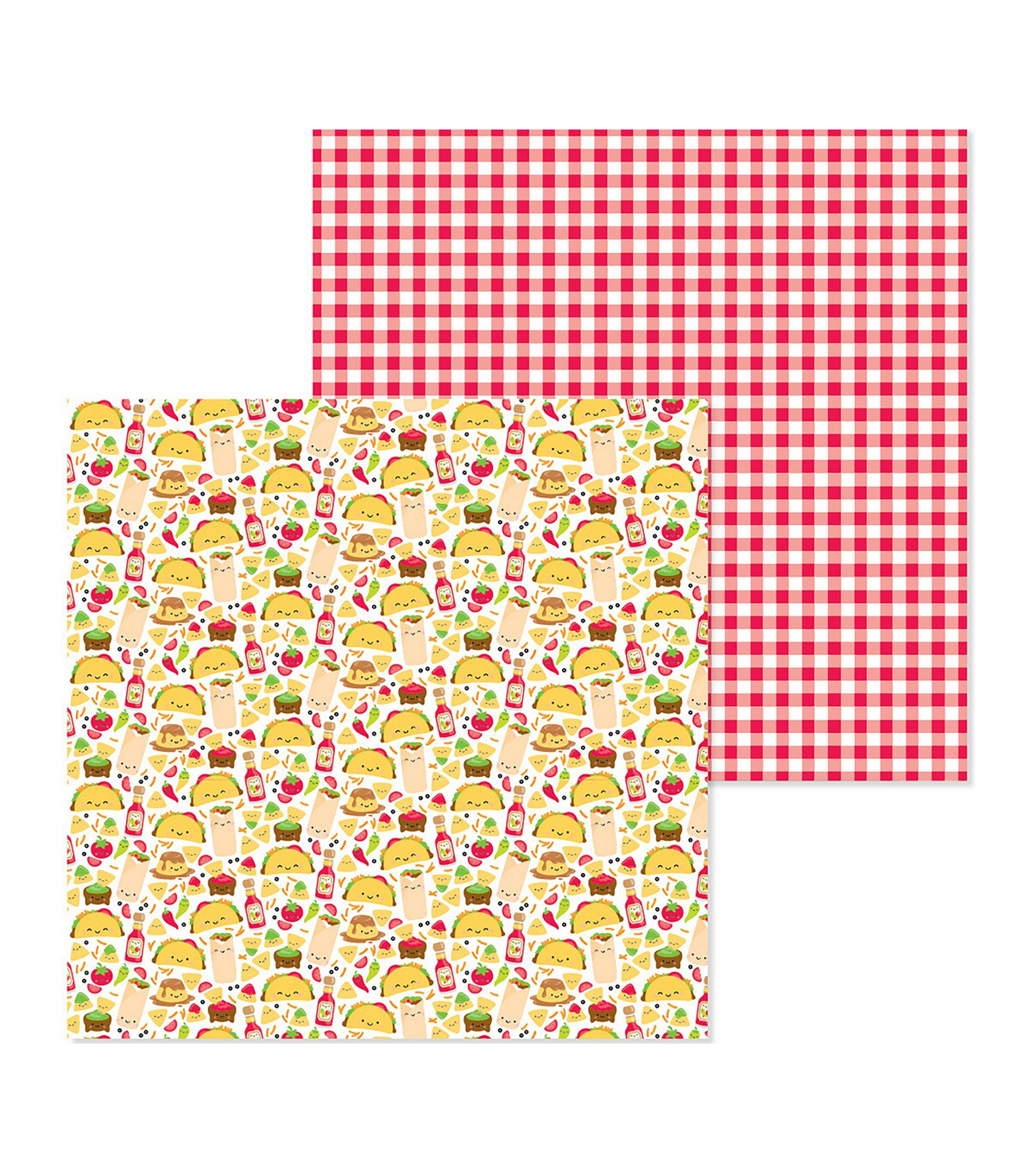 So Much Pun Double-Sided Cardstock 12\u0022X12\u0022-Fantas-Taco
