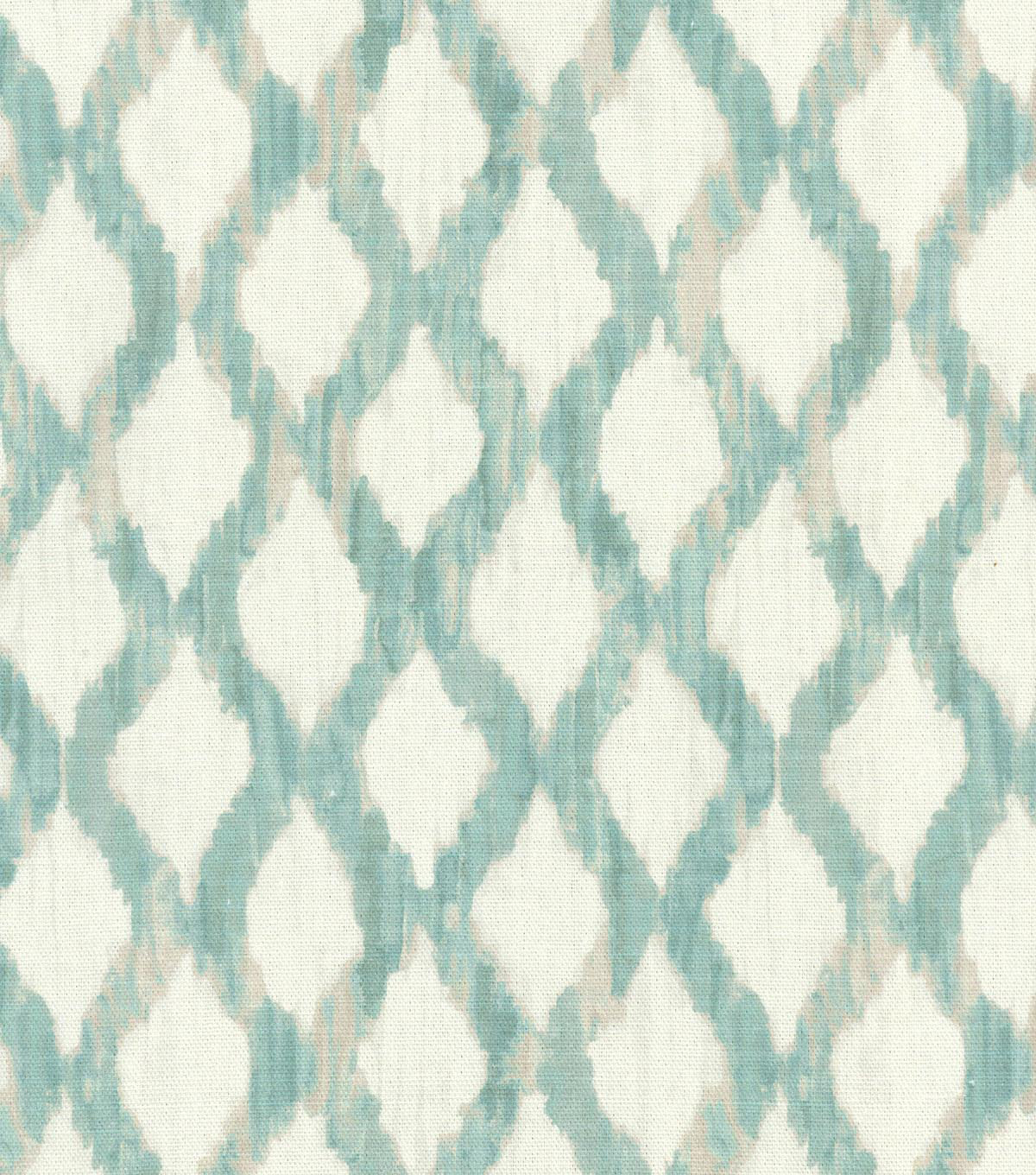 Kelly Ripa Multi-Purpose Decor Fabric 54\u0022-Floating Trellis Spa
