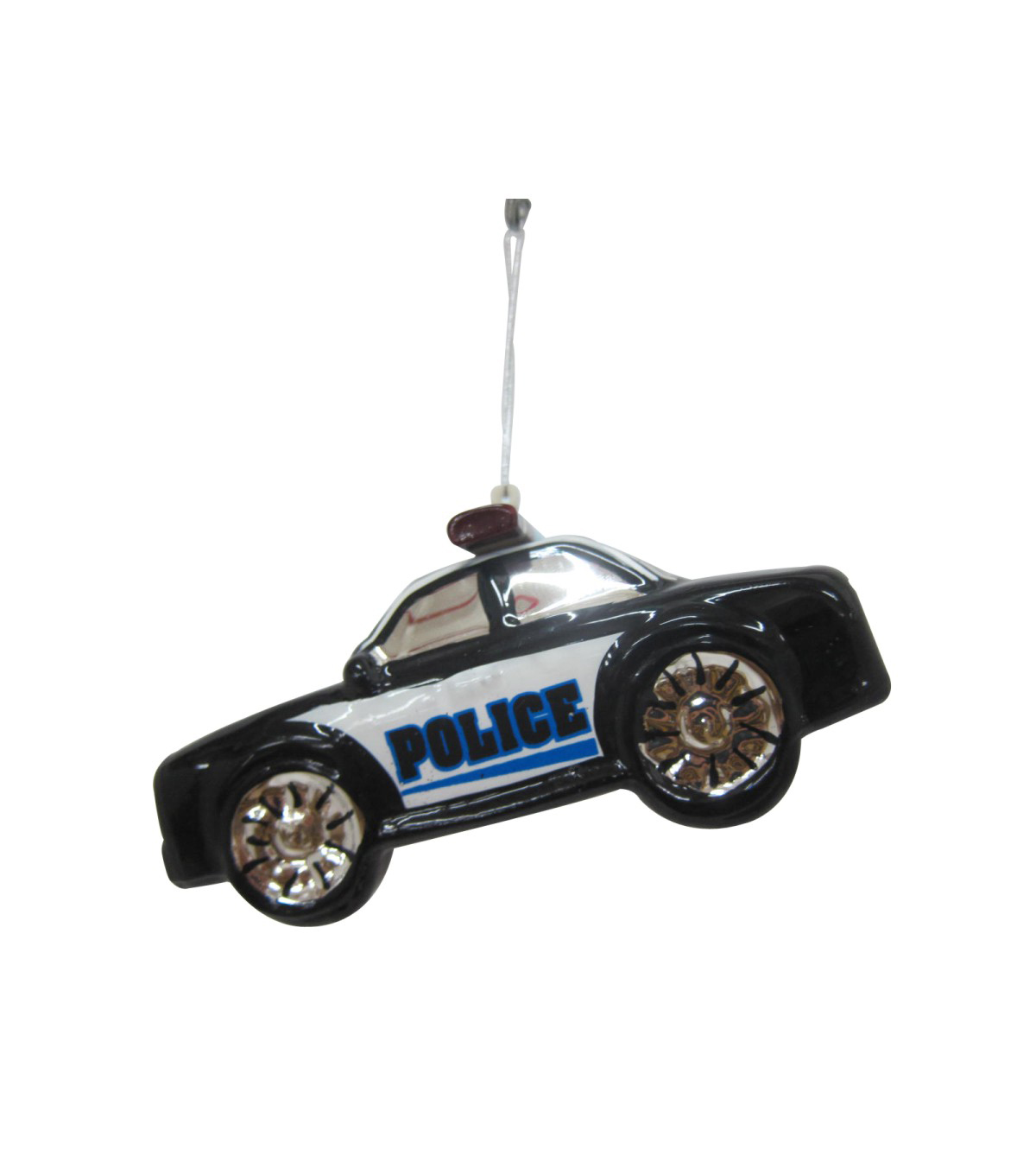 Maker\u0027s Holiday Christmas Police Car Ornament