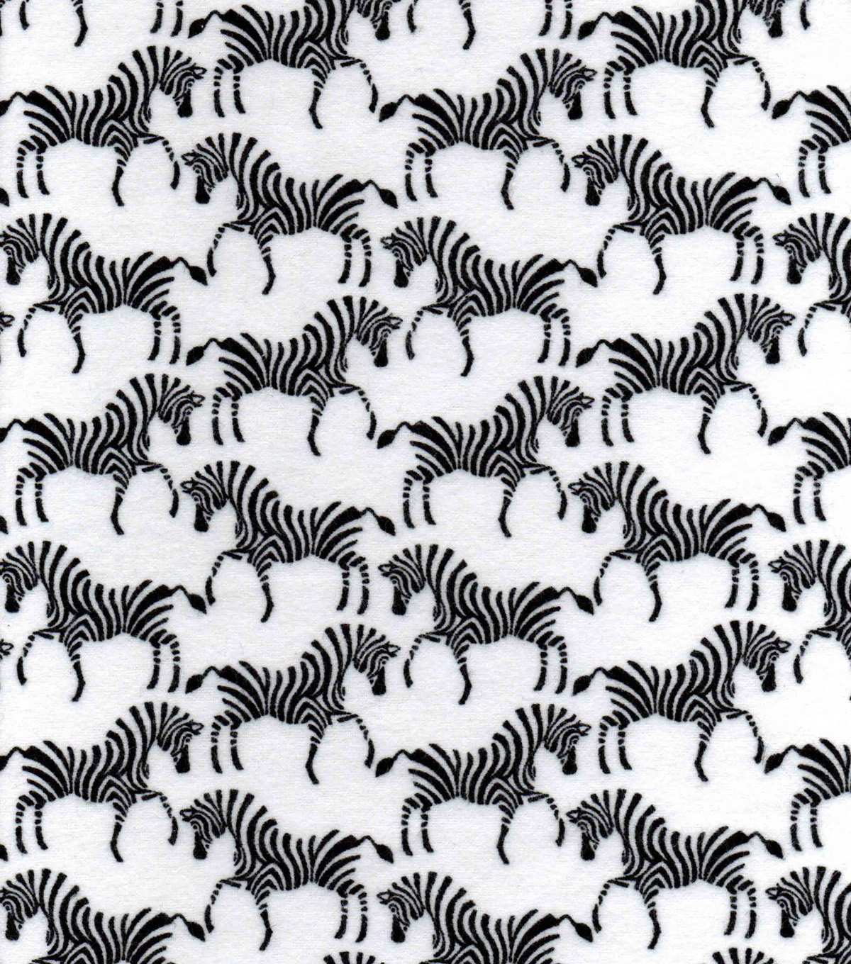 Snuggle Flannel Fabric 42\u0022-Zebras