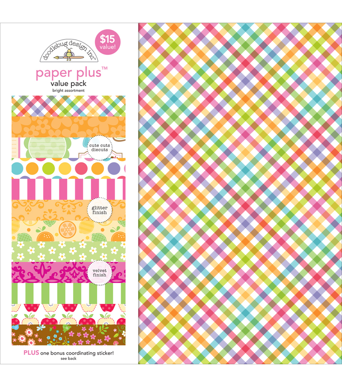 Bright -paper Plus Asst Pack