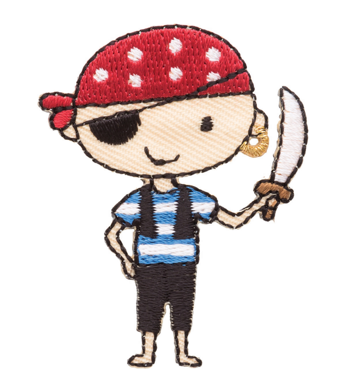 Simplicity® Iron-On Applique-Pirate Boy
