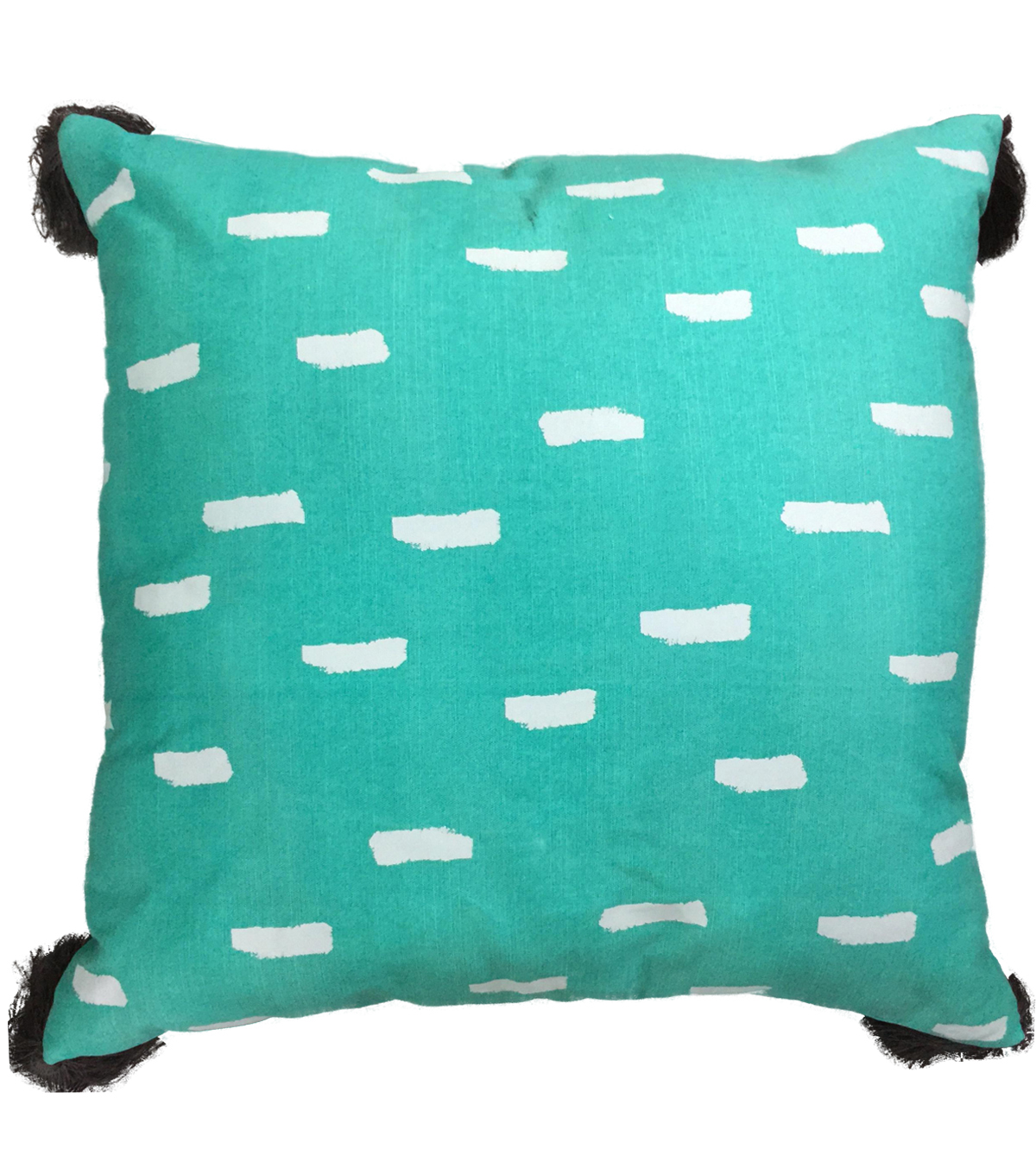 Printed Pillow 18\u0027\u0027x16\u0027\u0027-Teal