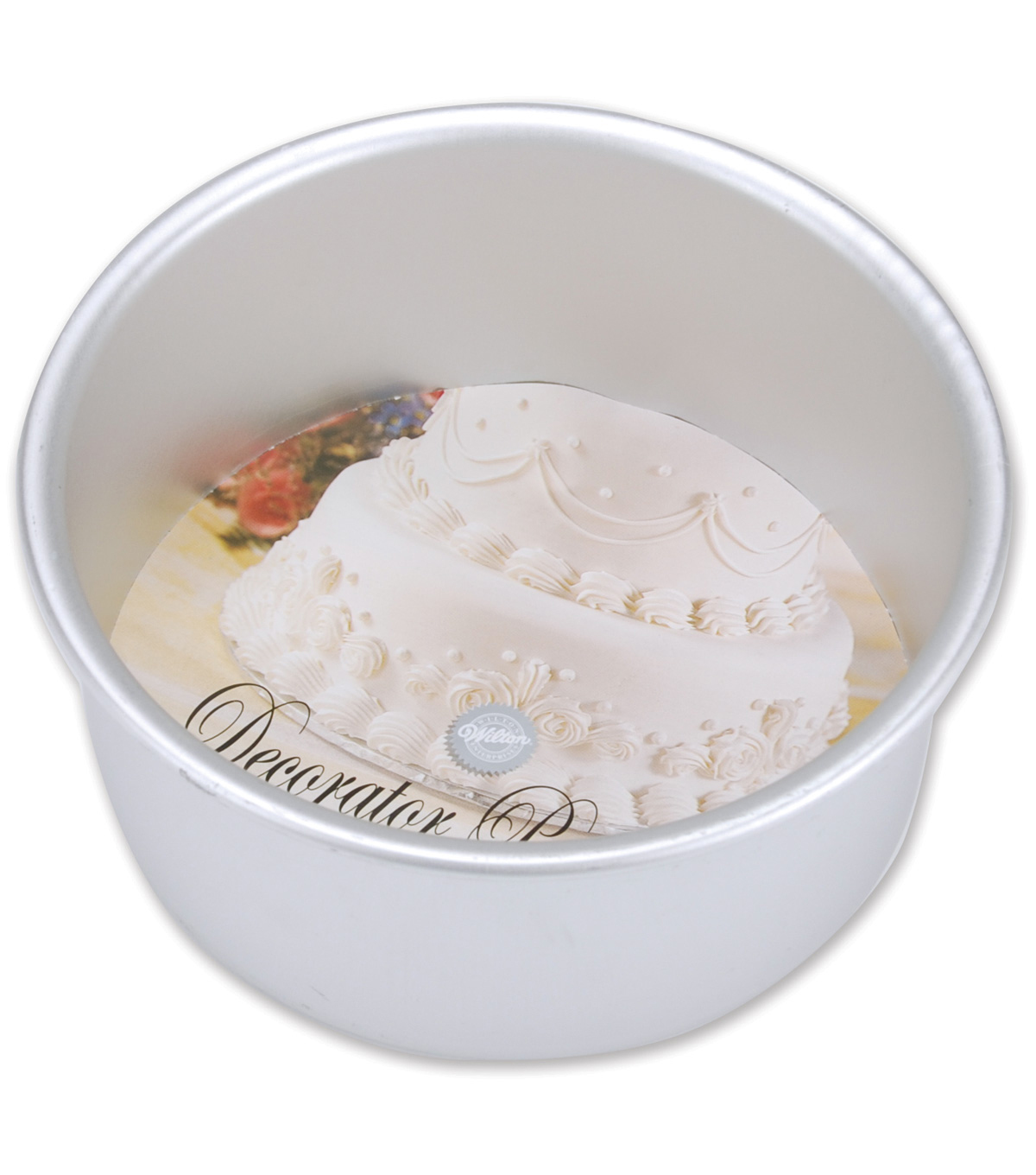Wilton Decorator Preferred Cake Pan-6\u0022X3\u0022 Round