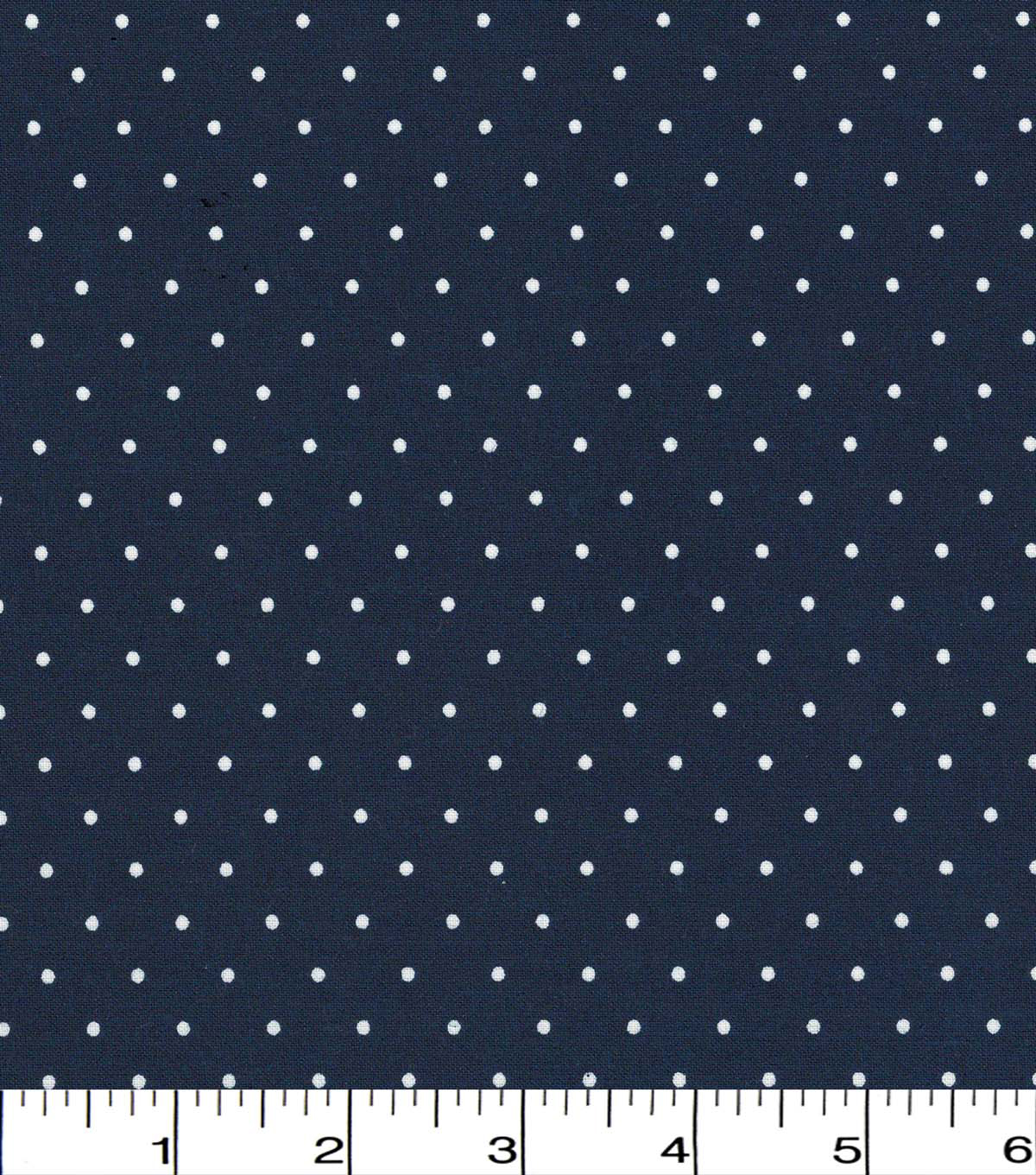 Quilter\u0027s Showcase Cotton Fabric 44\u0022-Navy Dot