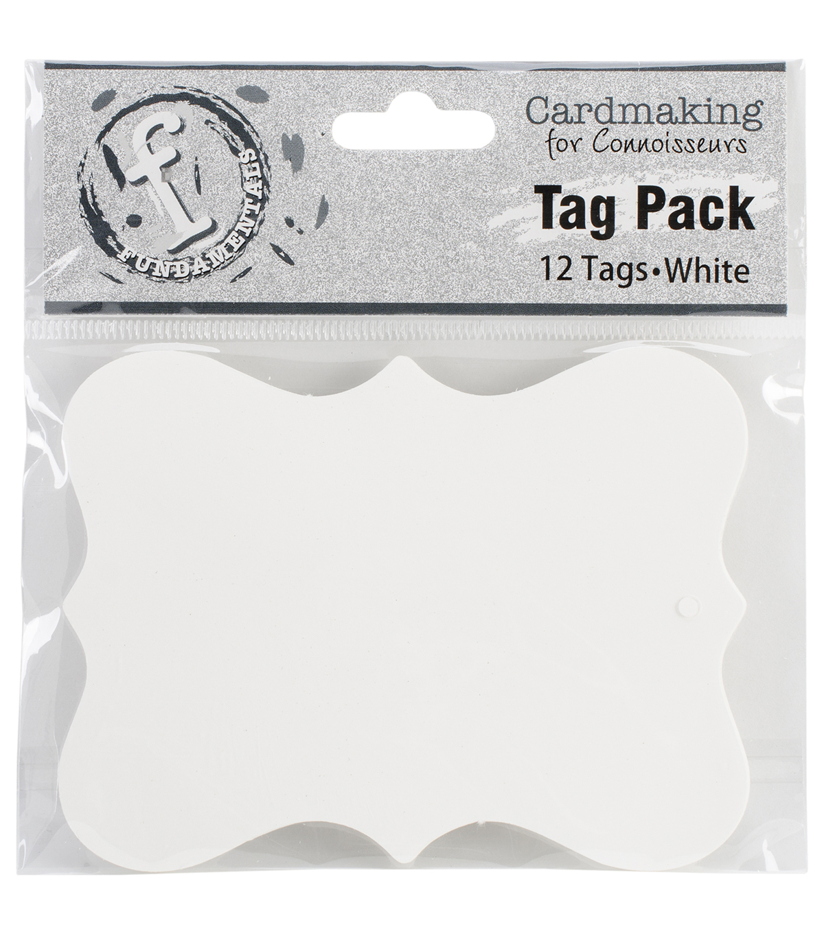 Ruby Rock-It Fundamentals Scallop Tags Large