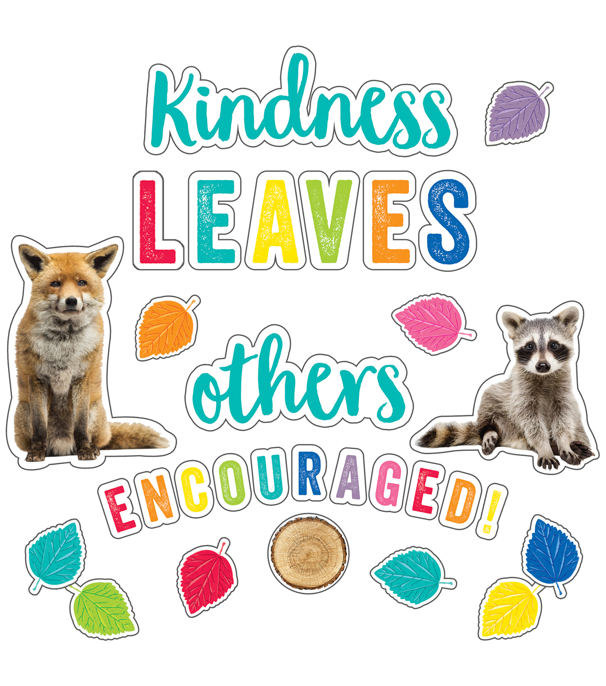 Kindness Leaves Others Encouraged Bulletin Board Set