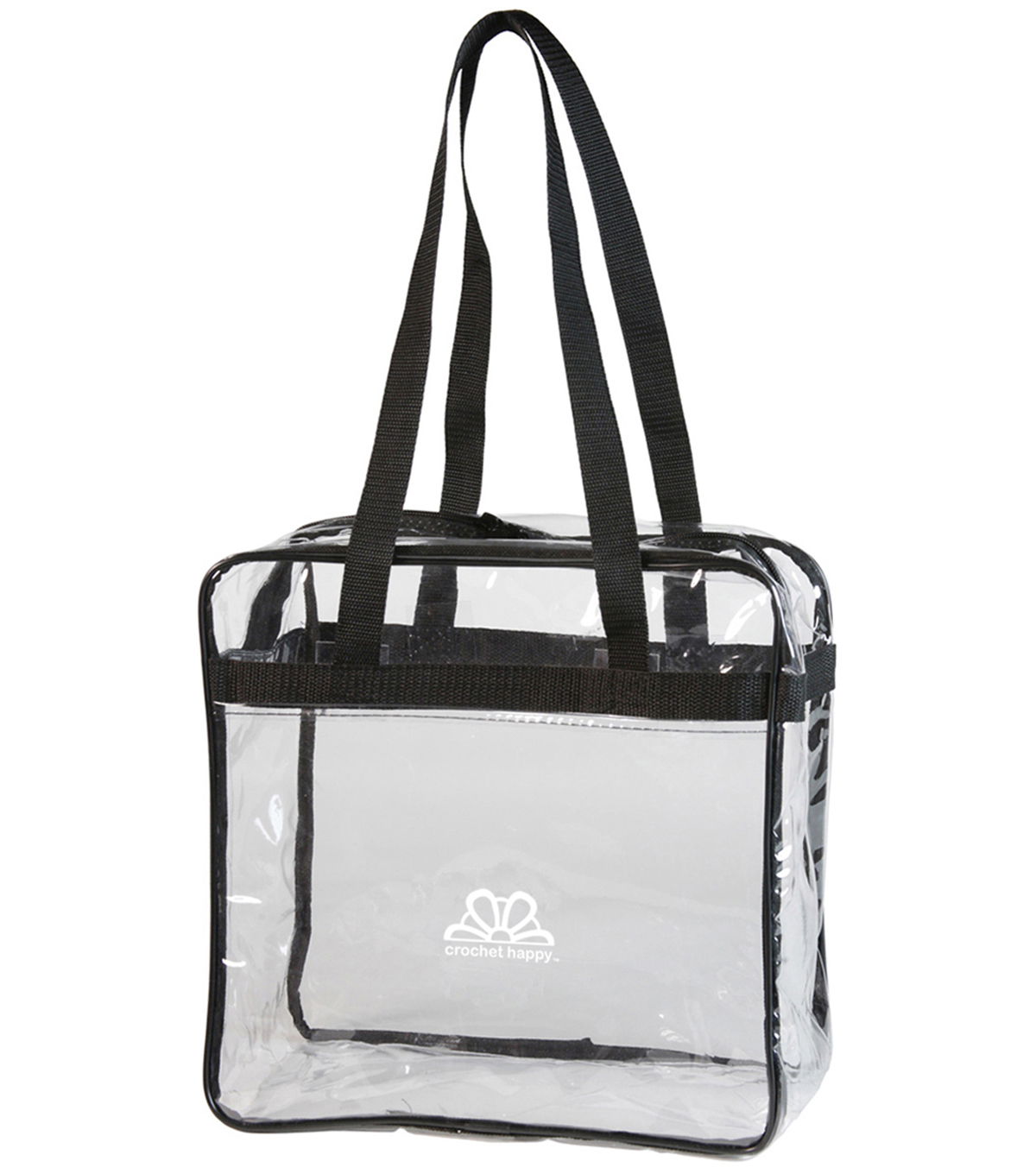 K1C2 Crochet Happy Tote-Clear