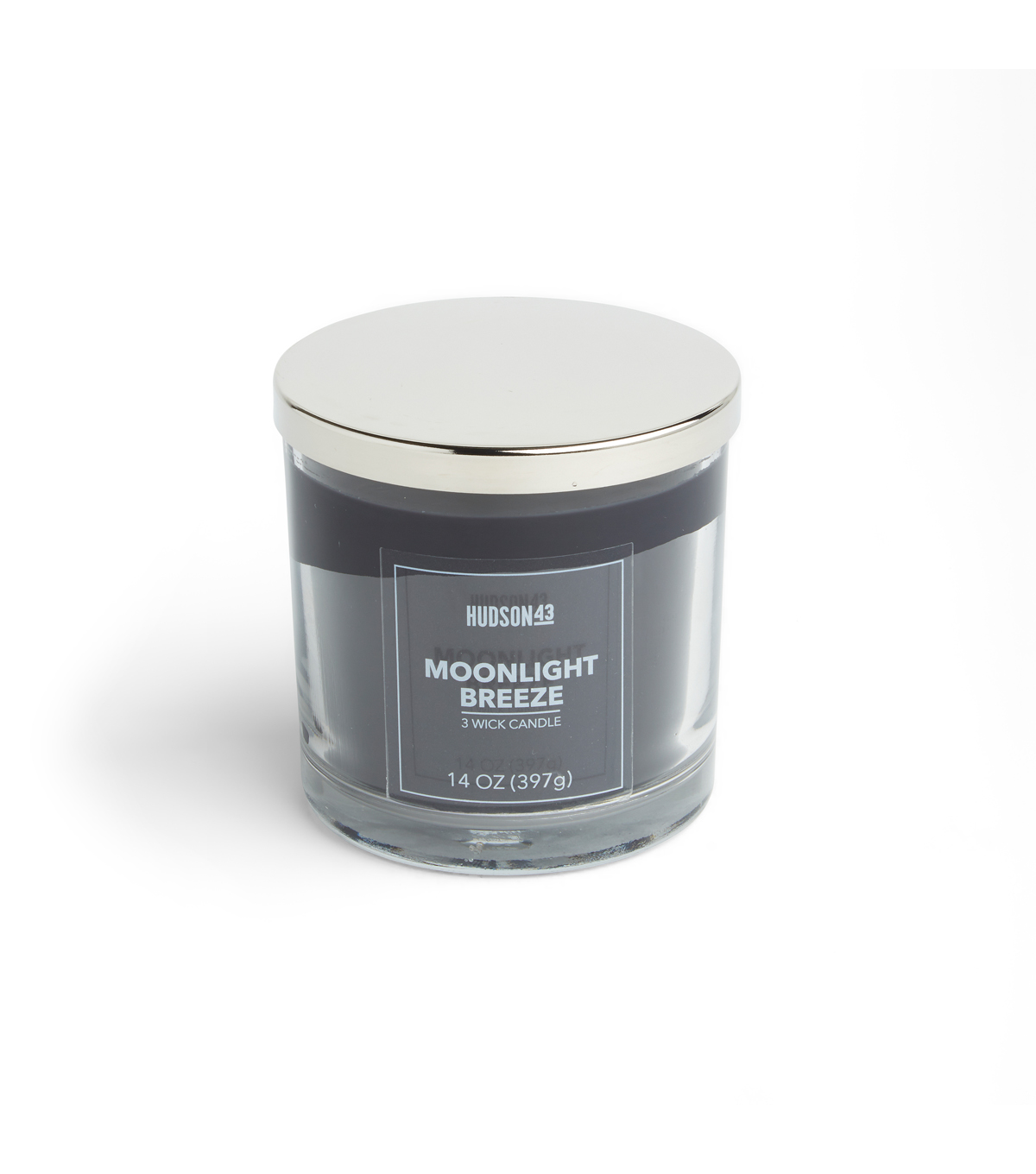Hudson 43 Candle & Light 14 oz. Moonlight Breeze Scented Jar Candle