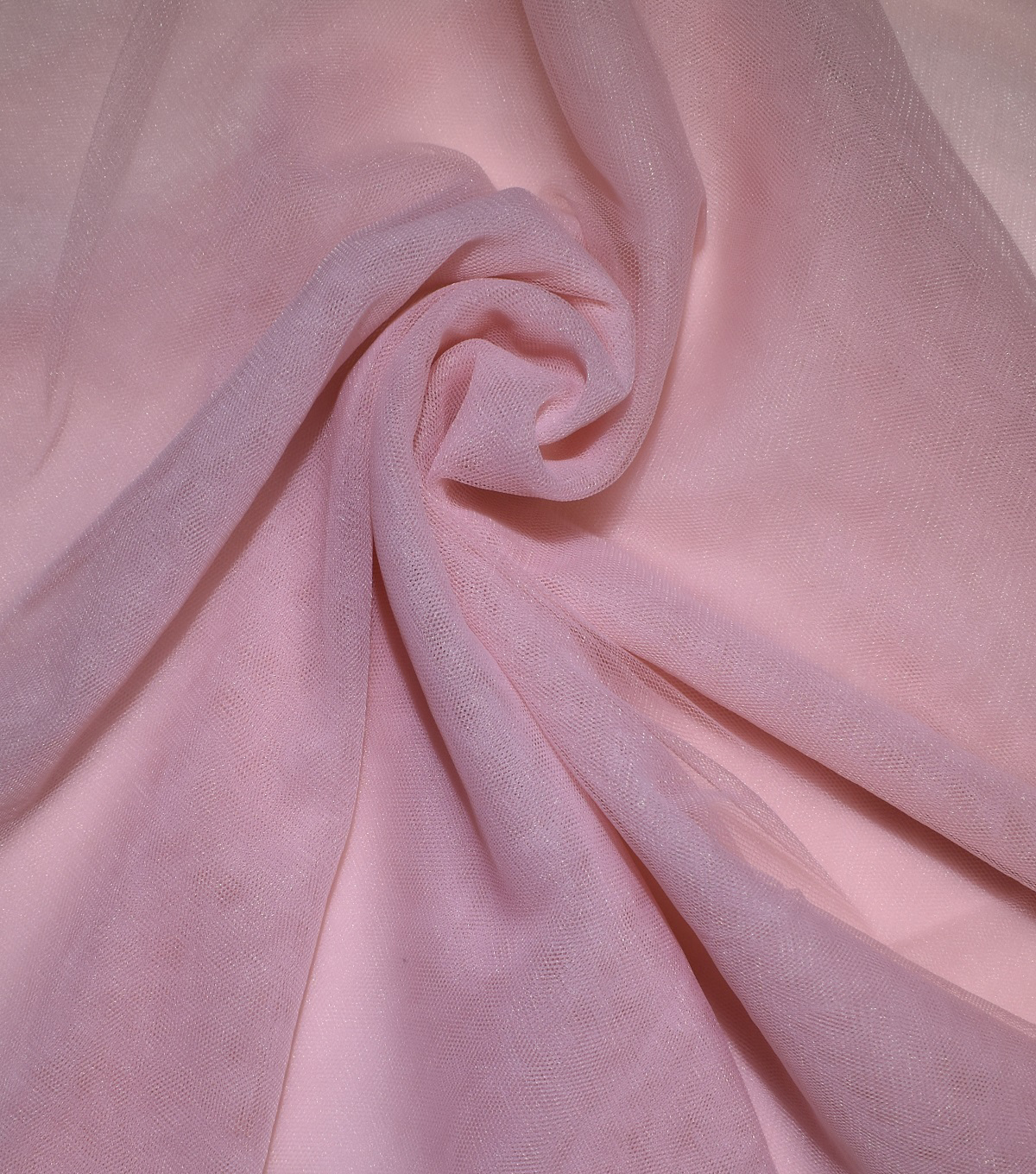Casa Collection Solid Tulle Fabric 57\u0027\u0027, Peachskin
