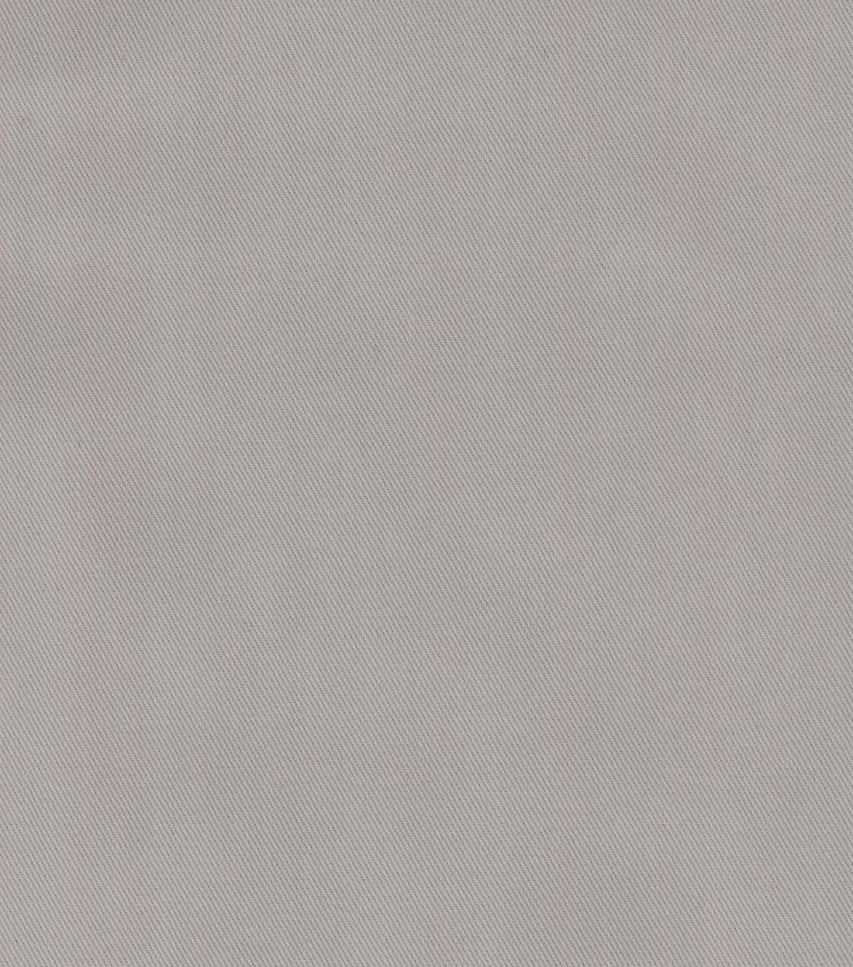 P/K Lifestyles Upholstery Fabric 57\u0022-Bentley Twill Gray