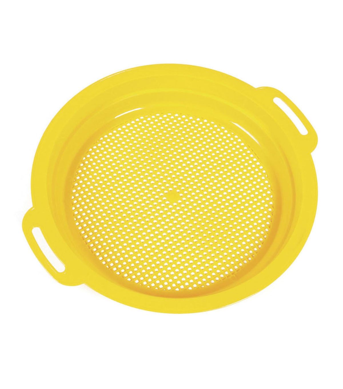 SI Manufacturing Yellow Sieve Sand and Water Toy, Pack of 24