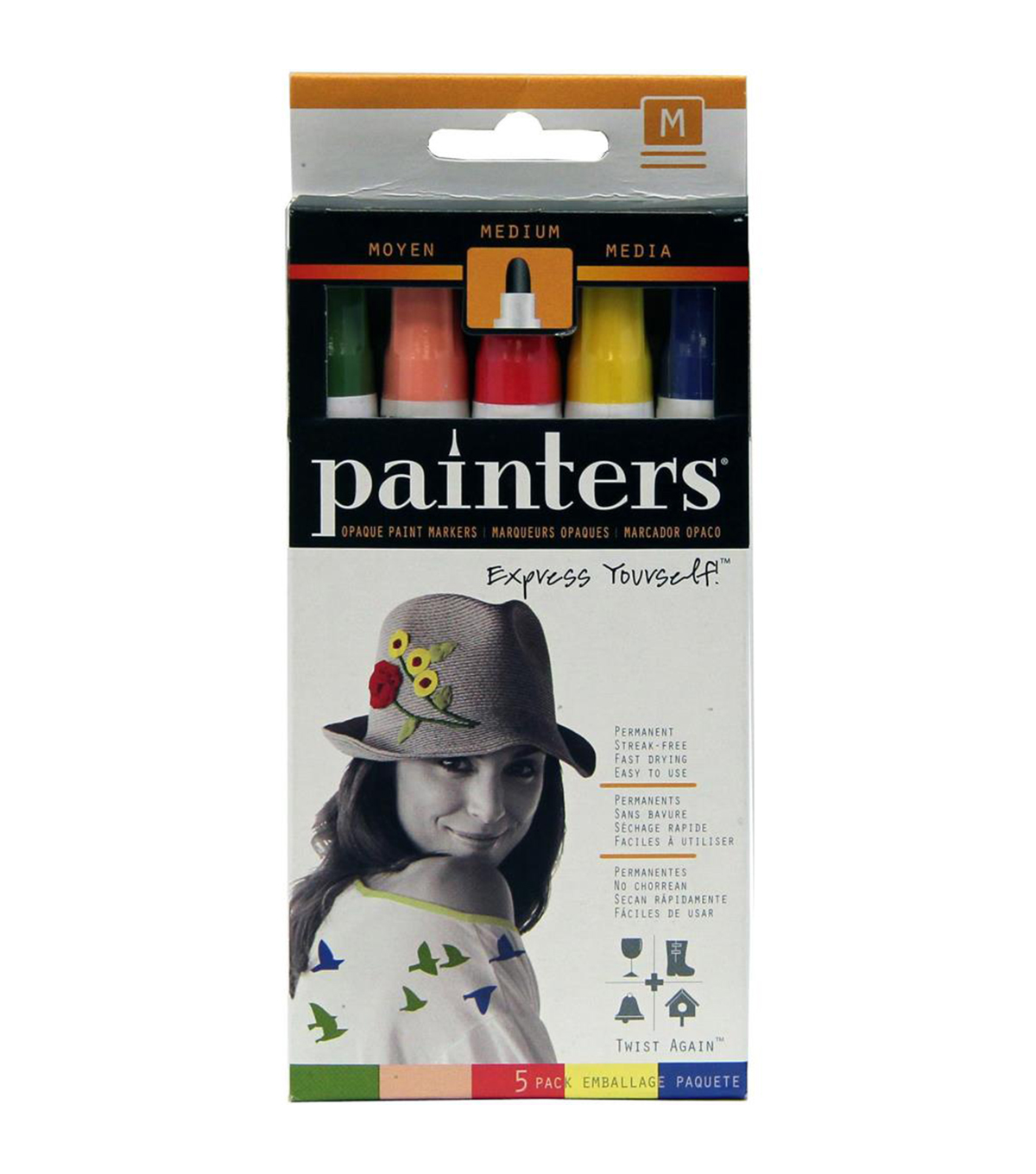 Elmers Painters Twist Again 5 Pk