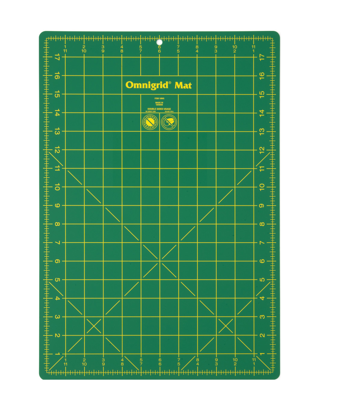 Omnigrid 12\u0027\u0027x18\u0027\u0027 Cutting Mat with Grid