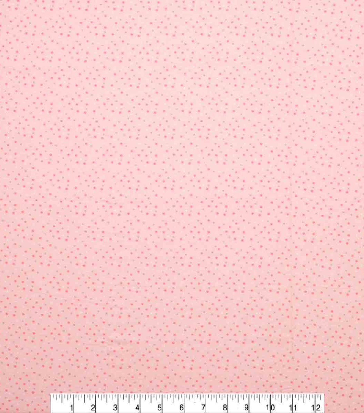 Super Snuggle Flannel Fabric-Pink & Gray Dot