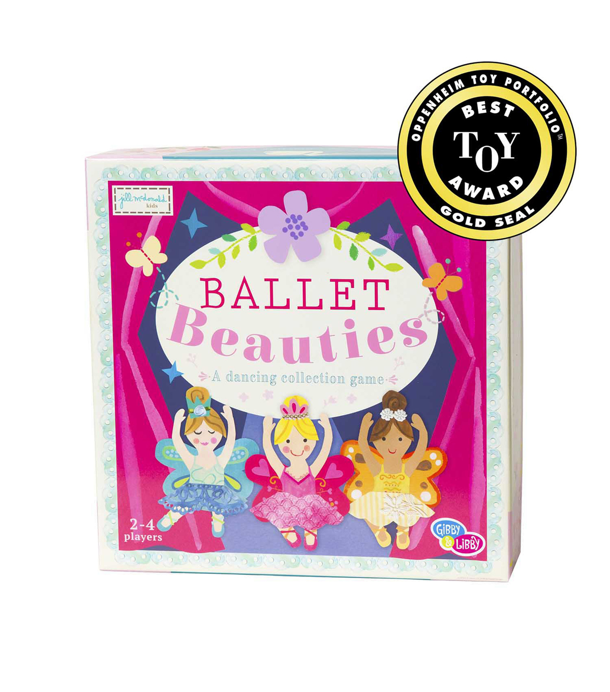 Gibby & Libby Ballet Beauties Board Game