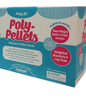 Poly-Pellets 160 oz. Weighted Stuffing Beads