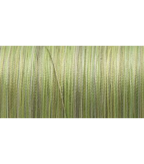 YLI Silk Variegated Thread 218 Yds, Variegated Greens
