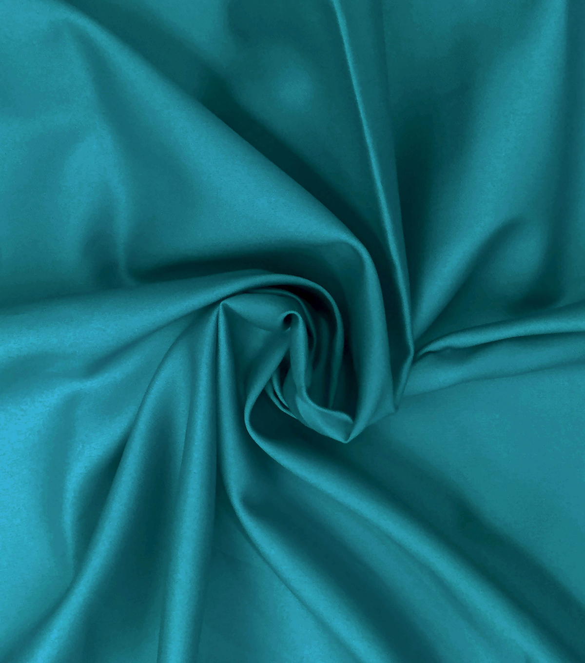 Supima Sateen Cotton Fabric-Solids, Teal