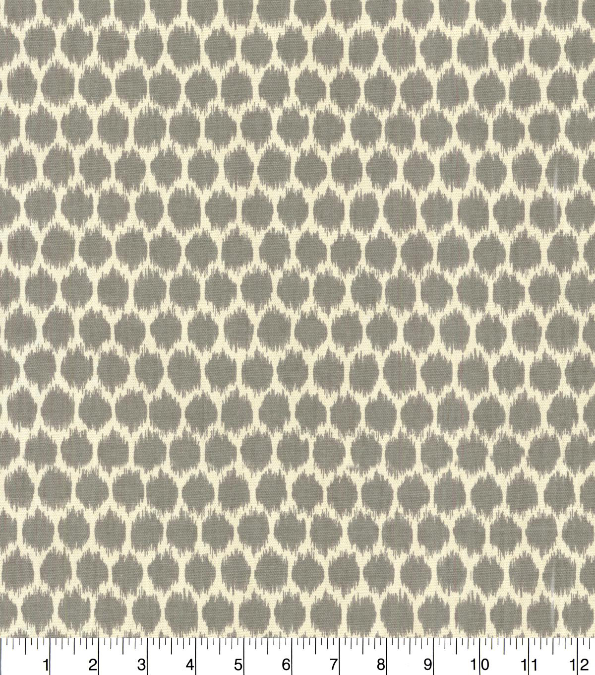 Home Decor 8\u0022x8\u0022 Fabric Swatch-Waverly Seeing Spots SD Graphite