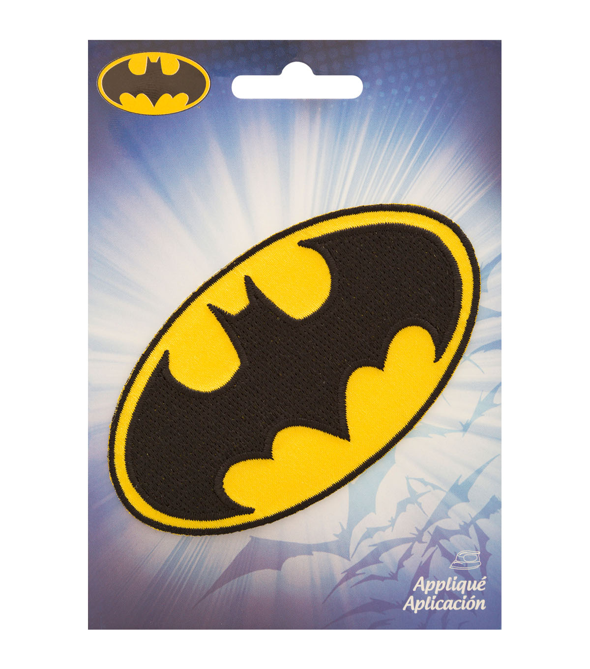 DC Comics Batman  2.25\u0022X4\u0022 Iron-On Applique-Logo