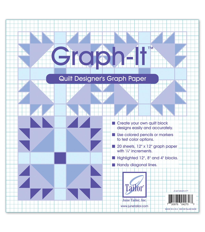 graph it quilt designer s graph paper joann