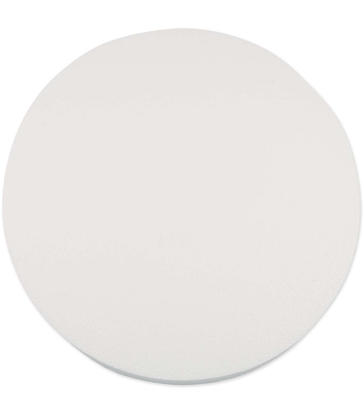 Plasteel Corp Smooth Foam Disc 12\u0022X1\u0022 1Pk-White
